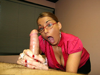 mature lady stacie starr gives a good sloppy blowjob video